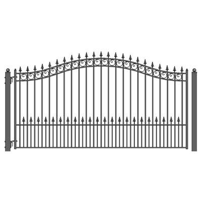 Aleko Single Swing Driveway Gate
