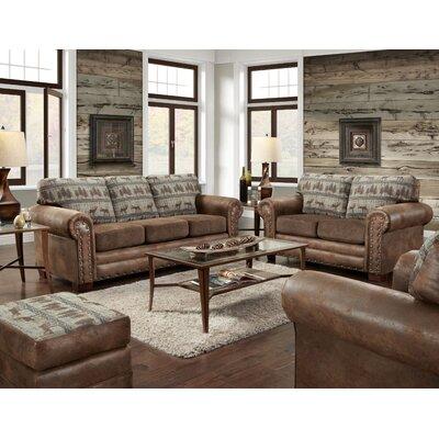 American Classics Sleeper Lodge Living Room Set