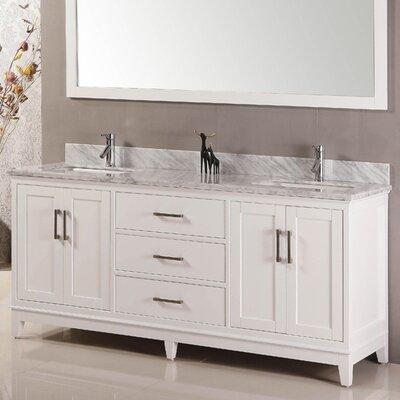 Belvederebath Double Bathroom Vanity Set