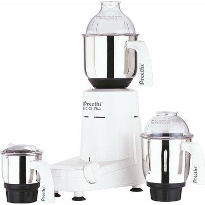 Eco Plus 550 Watts 3 Jar Mixer Grinder -  Preethi, MG-138