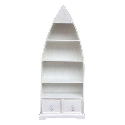 Longshore Tides Bookcase Boat Bookcases
