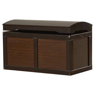 Viv Rae Barrel Top Toy Box Espresso