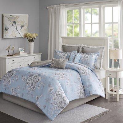 Ophelia Comforter Set Printed Bedsding