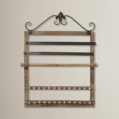 Wood Wall Mounted Jewelry Holder FDLL5230 42008545