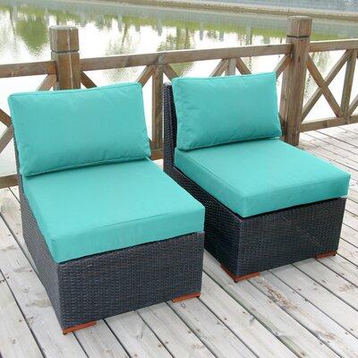 Bay Isle Home Slipper Chair Cushions Armless Lounge Chairs
