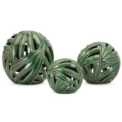 Bay Isle Home Balls Sculpture Set Decorative Furniture