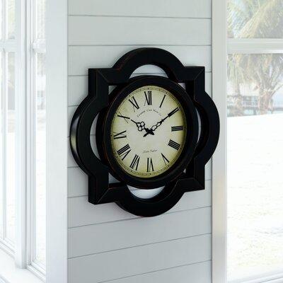 Charlton Home Wall Clock Myla Wall Clocks