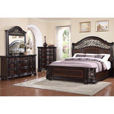 Fleur De Lis Living Queen Panel Bedroom Set