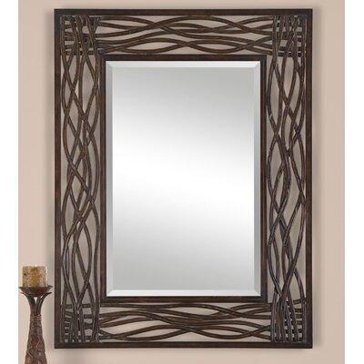 World Menagerie Mocha Brown Mirror Mirrors