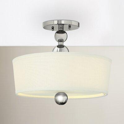 Willa Arlo Interiors Metal Semi Flush Mount Light Lighting