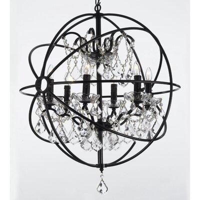 Willa Arlo Interiors Light Led Globe Chandelier Orb Chandeliers