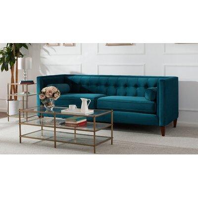 Willa Arlo Interiors Sofa Teal Tufted Sofas