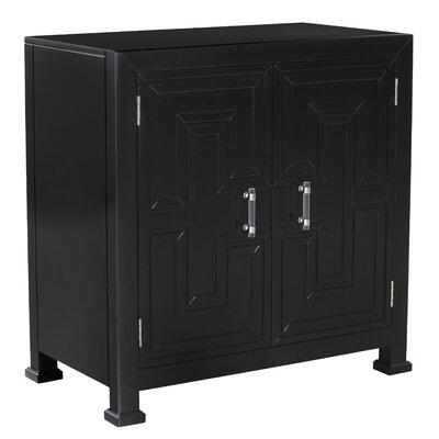 Mercer41 Overlay Door Cabinet Geometric Chests Cabinets