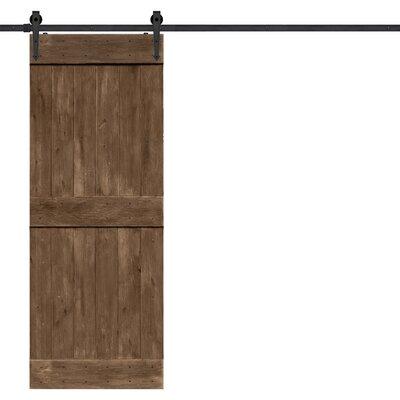 Barndoorz Paneled Wood Barnwood Barn Door Hardware Kit