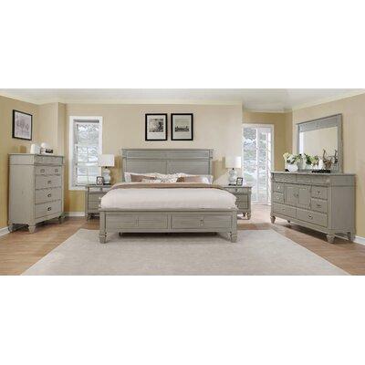 Beachcrest Home Solid Wood  Platform Bedroom Set Queen