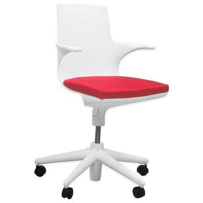 Mod Jaden Mid Back Desk Chair Upholstery Photo