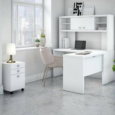 Kathy Ireland Desk Office Suite Hutch Mobile File Cabinet Office Bush