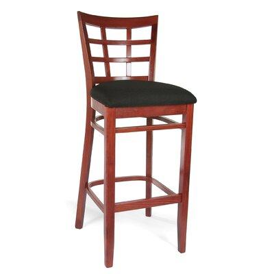 Benkel Seating Lattice Bar Stool
