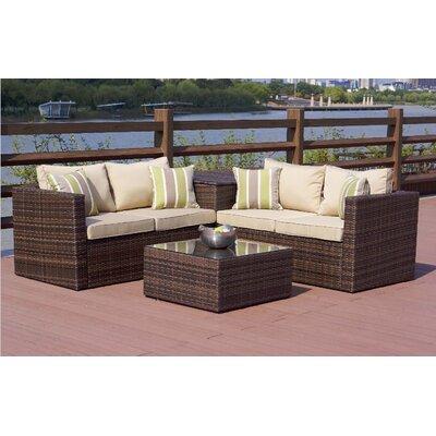 Directwicker Set Cushions Sofa Conversation Sets