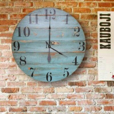 Rosecliff Heights Farmhouse Wall Clock Quinlynn Wall Clocks