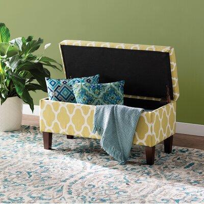 Latitude Run Upholstered Storage Bench Tokatli Benches