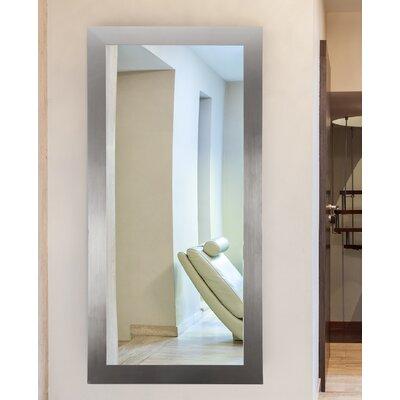 Latitude Run Silver Wall Mirror Modern Mirrors