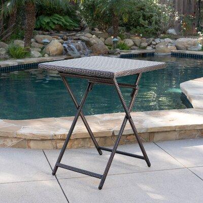 Latitude Run Wicker Bistro Table Tables