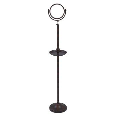 Allied Brass Floor Mirror Venetian Bronze Magnification X