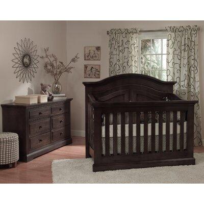 Centennial Convertible Crib Set Slate