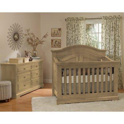 Centennial Convertible Crib Set Driftwood