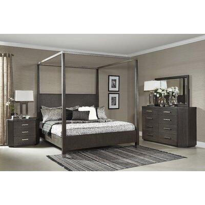Fairfax Home Canopy Bedroom Set Queen