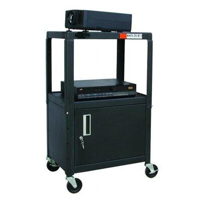 Hamilton Buhl Steel Av Cart Locking Cabinet