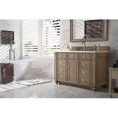 Alcott Hill Single Bathroom Vanity Set Top Thickness Top White