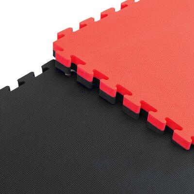 Sivan Reversible Interlocking Puzzle Tiles Floor Mat MAT-K-RBLK