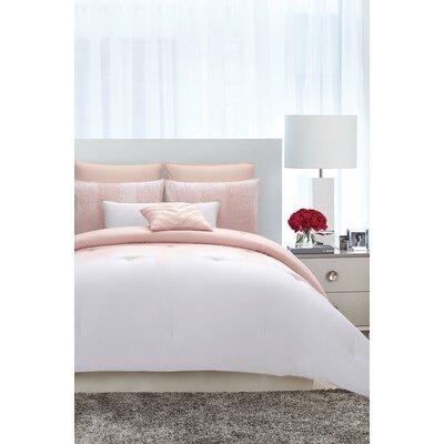 Vince Camuto Comforter Set Blush Bedsding