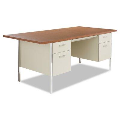 Alera Desk Oak Putty