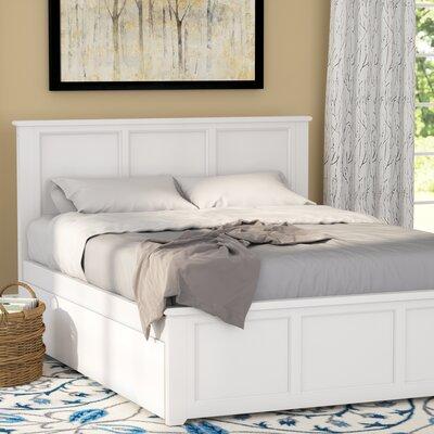 Andover Mills Storage Platform Bed Full White