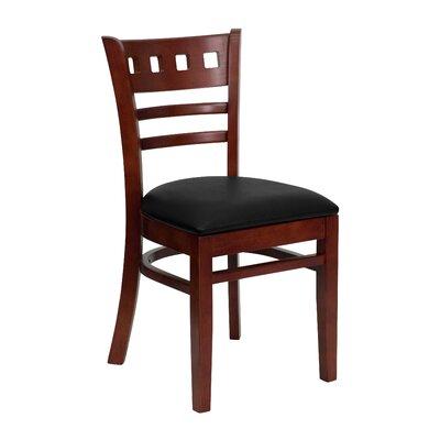 Flash Back Side Chair Upholstery Black Vinyl Quantity Set