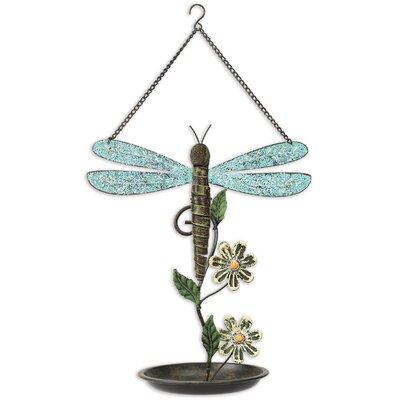 Dragonfly Decorative Tray Bird Feeder 91459
