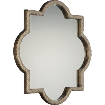 Gracie Oaks Painted Mirror Metal Mirrors