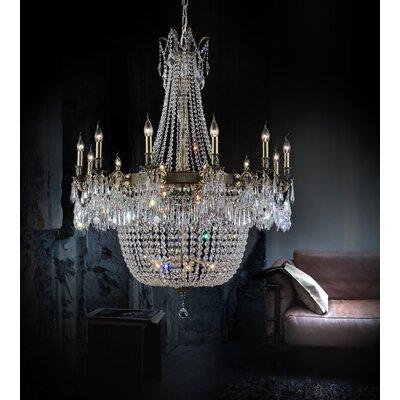 Cwilighting Brass Light Chandelier