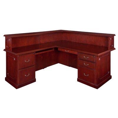 Wood Reception Desk
