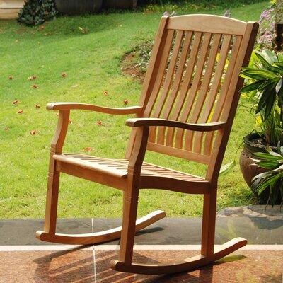 Teak Rocking Chair Porch 35 Product Image