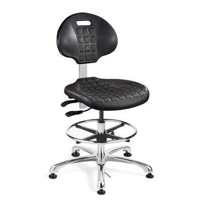 Bevco Ergonomic Drafting Chair Glides Casters Mushroom Glides