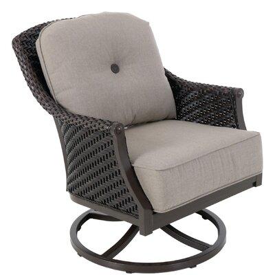 Red Barrel Studio Wicker Swivel Lounge Chair Aluminum Lounge Chairs
