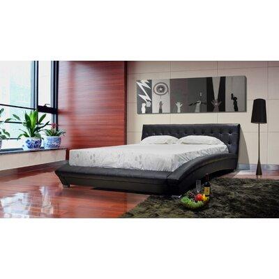 Greatime Platform Bed Chocolate King