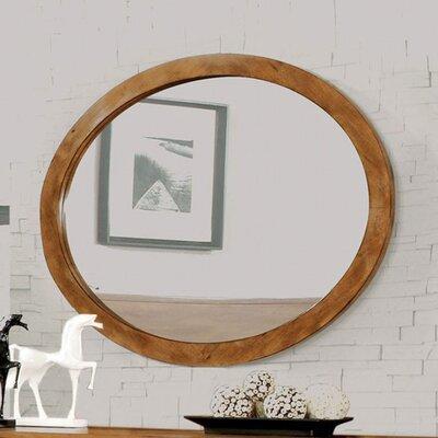 Corrigan Studio Mounted Oval Mirror Wall Mirrors