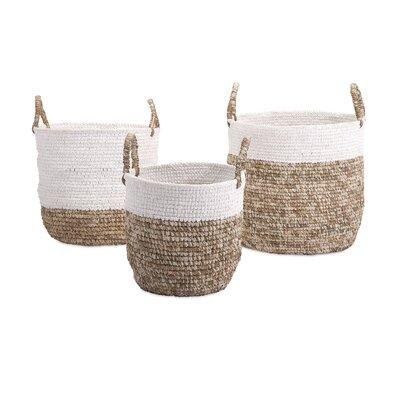 Laurel Foundry Modern Farmhouse Basket Set Fabric Storage