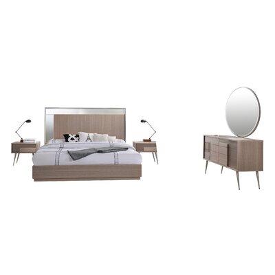 Bestmasterfurniture Platform Bedroom Set Bed Queen