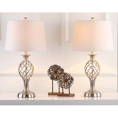Three Posts Urn Table Lamp Lattice Table Lamps
